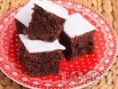Рецепта Пухкав кекс с какао и захарен фондан